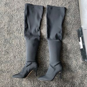 855 inc thigh high pull on boots easy to walk
